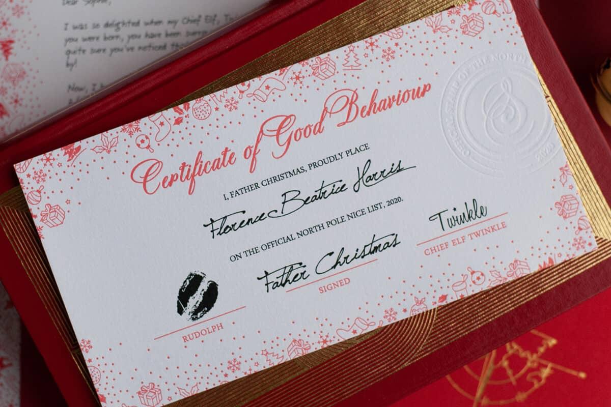 Our Authentic Santa Letters Classicsanta Co Uk